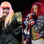 "Image for the Music programme ""Rihanna v Nicki Minaj"""