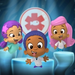 "Image for the Childrens programme ""Bubble Guppies"""