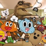 "Image for the Childrens programme ""The Amazing World of Gumball"""