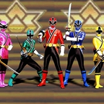 "Image for the Childrens programme ""Power Rangers Samurai"""