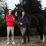"Image for the Sport programme ""Carl and Charlotte: Dressage Super"""