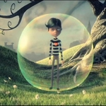 "Image for the Childrens programme ""Am Balach anns a' Bhuilgean/Boy in the Bubble"""