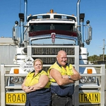 "Image for the Documentary programme ""Outback Truckers"""