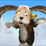 "Image for the Drama programme ""Bhipo - Cu air Iteig/Vipo - Adventures of the Flying Dog"""