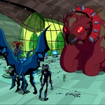 "Image for the Animation programme ""Ben 10: Omniverse: Showdown"""