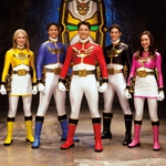 "Image for the Childrens programme ""Power Rangers Megaforce"""