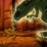 "Image for the Film programme ""Scooby-Doo! Legend of the Phantosaur"""