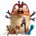 "Image for the Animation programme ""Monsters vs Aliens"""