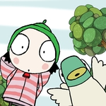 "Image for the Childrens programme ""Sarah and Duck: Christmas Special"""