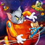 "Image for the Film programme ""Tom and Jerry Blast Off to Mars"""