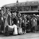 "Image for the Documentary programme ""Evacuees Reunited"""