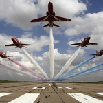 "Image for the Documentary programme ""The Red Arrows"""