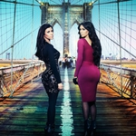 "Image for the Reality Show programme ""Kourtney and Kim Take New York"""