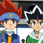 "Image for the Childrens programme ""Beyblade Metal Masters"""