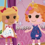 "Image for the Childrens programme ""Lalaloopsy"""