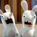 "Image for the Animation programme ""Rabbids: Invasion"""