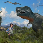 "Image for the Childrens programme ""Andy's Dinosaur Adventures"""