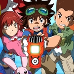 "Image for the Childrens programme ""Digimon Fusion"""