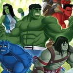 "Image for the Animation programme ""Hulk and the Agents of Smash"""