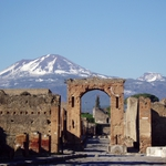 "Image for the History Documentary programme ""Pompeii"""