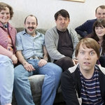 "Image for the Sitcom programme ""The Walshes"""