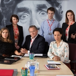 "Image for the Sitcom programme ""W1A"""