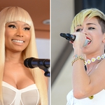 "Image for the Music programme ""Miley v Nicki Minaj"""