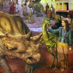 "Image for the Drama programme ""Dinotopia"""