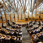 "Image for the Political programme ""Live Scottish Parliament"""