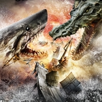 "Image for the Film programme ""Mega Shark v Crocosaurus"""