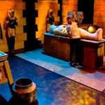 "Image for the Childrens programme ""Horrible Histories: Gory Games"""