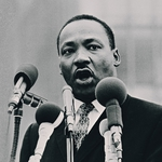 "Image for the Documentary programme ""Martin Luther King: Ripple of Hope"""