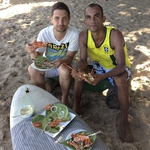 "Image for the Cookery programme ""Andy Bates Brazilian Street Feasts"""