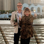 "Image for the Travel programme ""Jeni and Olly's West Coast Wine Adventure"""