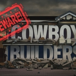 "Image for the Documentary programme ""Beware! Cowboy Builders"""