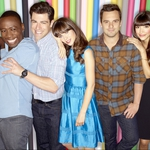 "Image for the Sitcom programme ""New Girl"""