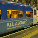 "Image for the Documentary programme ""All Aboard: East Coast Trains"""