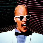 "Image for the Science Fiction Series programme ""Max Headroom"""