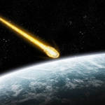 "Image for the Scientific Documentary programme ""Comet Impact"""