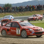 "Image for the Motoring programme ""European Rally Championship"""