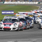 "Image for the Motoring programme ""Porsche Carrera Cup Australia"""