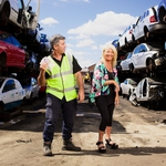"Image for the Documentary programme ""Scrappers"""