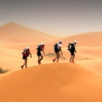 "Image for the Documentary programme ""Racing the Sahara"""