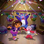 "Image for the Animation programme ""Dora the Explorer: Dora Rocks!"""