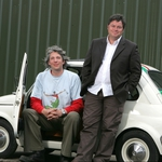 "Image for the Motoring programme ""Wheeler Dealers on the Road"""