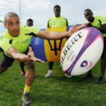 "Image for the Sport programme ""IRB Sevens World Series Rugby Highlights"""
