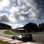 "Image for the Motoring programme ""F1 the Belgian Grand Prix - Highlights"""