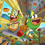 "Image for the Childrens programme ""Breadwinners"""