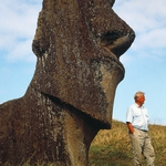 "Image for the History Documentary programme ""Lost Gods of Easter Island"""