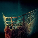 "Image for the History Documentary programme ""Titanic: The Final Secret"""